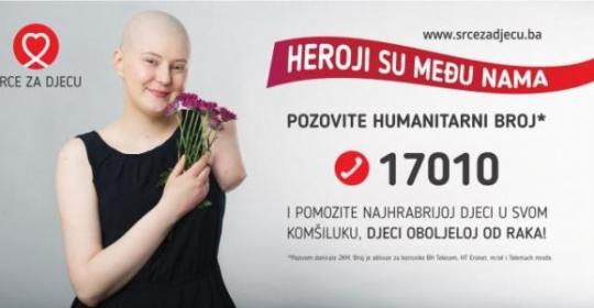Heroji su među nama – podržite djecu oboljelu od raka