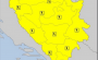U BiH na snazi žuti meteoalarm